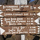 AT Sign at Lehigh Gap, PA by ga2me9603 in Trail & Blazes in Maryland & Pennsylvania
