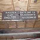Welcome to Rausch Gap Shelter in Pennsylvania, Gateway to St. Anthony's Wilderness