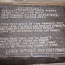 Sign Inside Rausch Gap Shelter in Pennsylvania by ga2me9603 in Sign Gallery