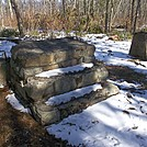 Steps and Footers of Old Mount Minsi (1,461 feet) Fire Tower by ga2me9603 in Trail & Blazes in Maryland & Pennsylvania