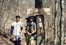 Stef And Reno On Ga-nc Border Early March 1992