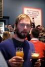 Baltimore Andy: Two-fisted Drinker At Troegs by iTrod in Get togethers
