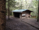 Roaring Fork Shelter by Squinty in North Carolina & Tennessee Shelters