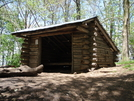Walnut Mountain Shelter by Squinty in North Carolina & Tennessee Shelters