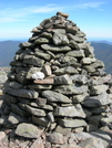 Cairn On Alpine Gardens by joeboxer in Views in New Hampshire