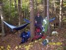 Hammock Camping In Franconia, Nh by Kickin' Wing in Hammock camping