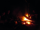 Around The Fire At Night by ShoelessWanderer in Section Hikers