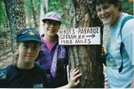 Slackpacking To Trail Days 1995 by ShoelessWanderer in Virginia & West Virginia Trail Towns