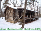 Anna Michener Cabin Christmas by sir limpsalot in Trail & Blazes in Maryland & Pennsylvania
