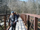 Ten Mile River Bridge by fallstherain in Section Hikers