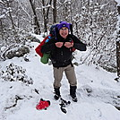 Snowy 4-day section hike by Menace in Views in Maryland & Pennsylvania