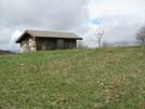 Chestnut Knob Shelter by Lead Dog in Trail & Blazes in Virginia & West Virginia
