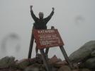 Jersey Joe Summits Katahdin by jersey joe in Thru - Hikers