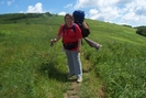 Going Up Hump Mountain by WhiteBearDog in Section Hikers