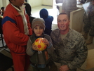 Gift To Iraqi Child (Soccer Speaks!)