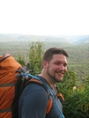 Me At The Top Of Sharp Point Vista - Old Logger's Path, Masten Pa - 9/08/09 by JokerJersey in Faces of WhiteBlaze members