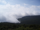 Storm Moving In Before Thomas Knob Should Have Not Been Noshing On Blue Berries And Kept Moving Got