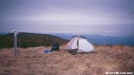 camping on Snowbird by Big Dawg in Trail & Blazes in North Carolina & Tennessee