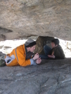 Sparkin L Under Tripod Rock by Bezekid609 in Members gallery