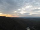 Tammanys Summit View Around Sunset