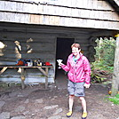 Trail Magic at Roan High Knob Shelter by doritotex in Section Hikers