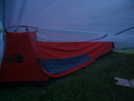 My Myog Tarp Overhang Area Inside Right by David@whiteblaze in Tent camping