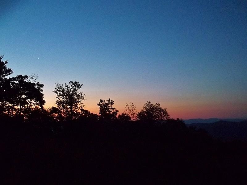 Sunrise on Cheoah Bald