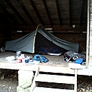 Moment Tent in Pochuck Shelter
