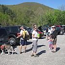 James River Group hike by Deer Hunter in Trail & Blazes in Virginia & West Virginia