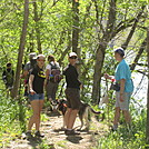 James River Group Hike by Deer Hunter in Trail & Blazes in Virginia & West Virginia