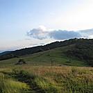 salt log gap to long mountain hike looking south by Deer Hunter in Trail & Blazes in Virginia & West Virginia