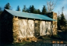 Icewater Spring Shelter (pre-restoration) by sienel in North Carolina & Tennessee Shelters