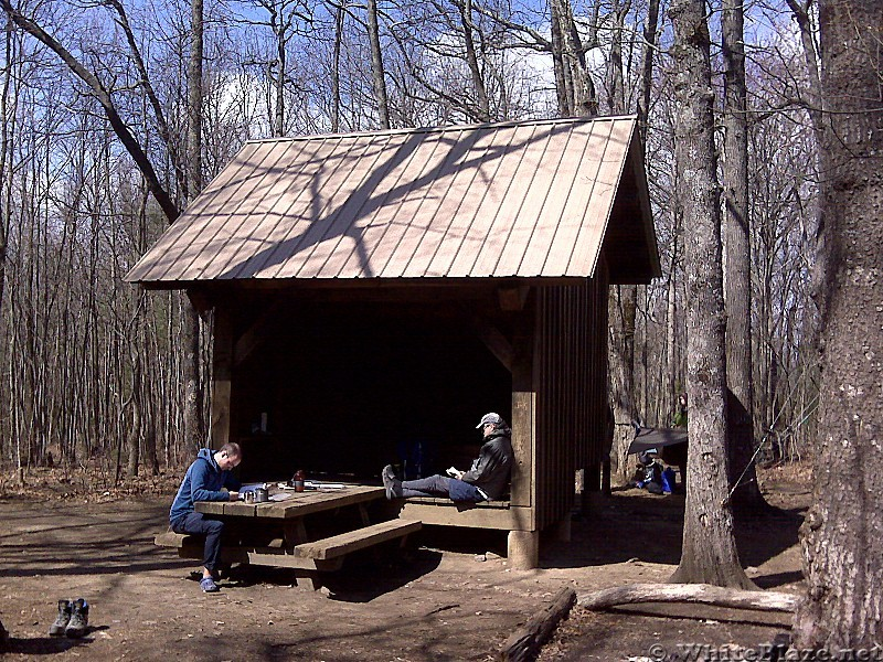 hawk mountain shelter