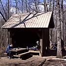 hawk mountain shelter by pfann in Hawk Mountain Shelter