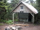 Roan High Knob Shelter by Trigger Happy Jack in North Carolina & Tennessee Shelters