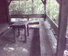 Bromley Shelter Table by KB1EJH in Vermont Shelters