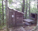 Bromley Shelter Privy by KB1EJH in Vermont Shelters