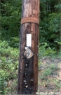 telephone pole AT marker