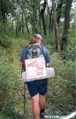 Pizza delivery by Jumpstart in Thru - Hikers