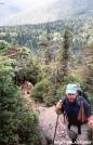 Climbing up to Killington, VT