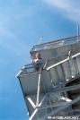 Jumpstart on Albert Mtn. Firetower by Jumpstart in Views in North Carolina & Tennessee
