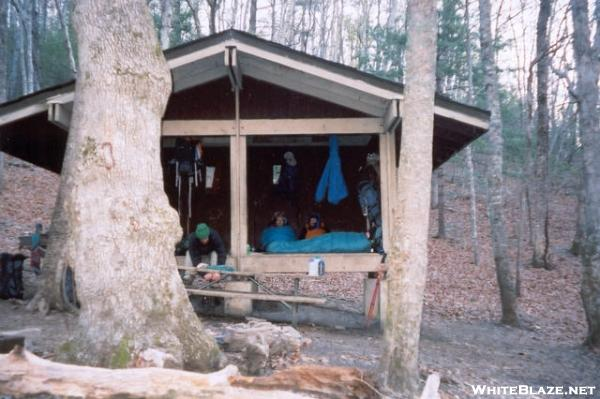 Low Gap Shelter, GA