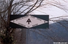 At the road crossing to Franklin, NC by Jumpstart in Sign Gallery