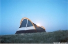 Tenting out on Max Patch Bald by Jumpstart in Tent camping