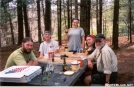 Pizza & Beer at Partnership Shelter by Jumpstart in Thru - Hikers