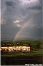 Rainbow over Pearisburg by Jumpstart in Virginia & West Virginia Trail Towns