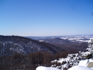 Winter View Of The Blue Ridge