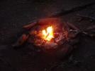 0018 2009.07.11 Black Gap Shelter Campfire by Attila in Approach Trail