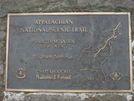 0025 2009.07.12 Springer Mountain Cnf Plaque by Attila in Springer Mtn Gallery
