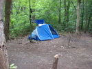 0031 2009.07.12 Tent Camping At Hawk Mountain Shelter